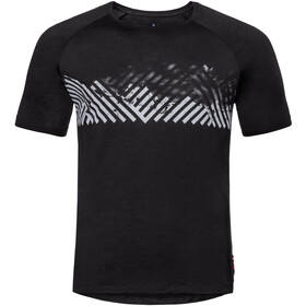 Odlo BL Concord Crew Neck T-shirt Heren, black-mountain stripe ss19